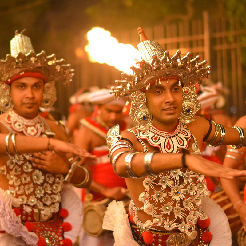 Kandy Esala Procession, Sri Lanka