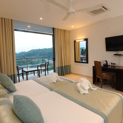 Standard Rooms with Kandy Lake Views