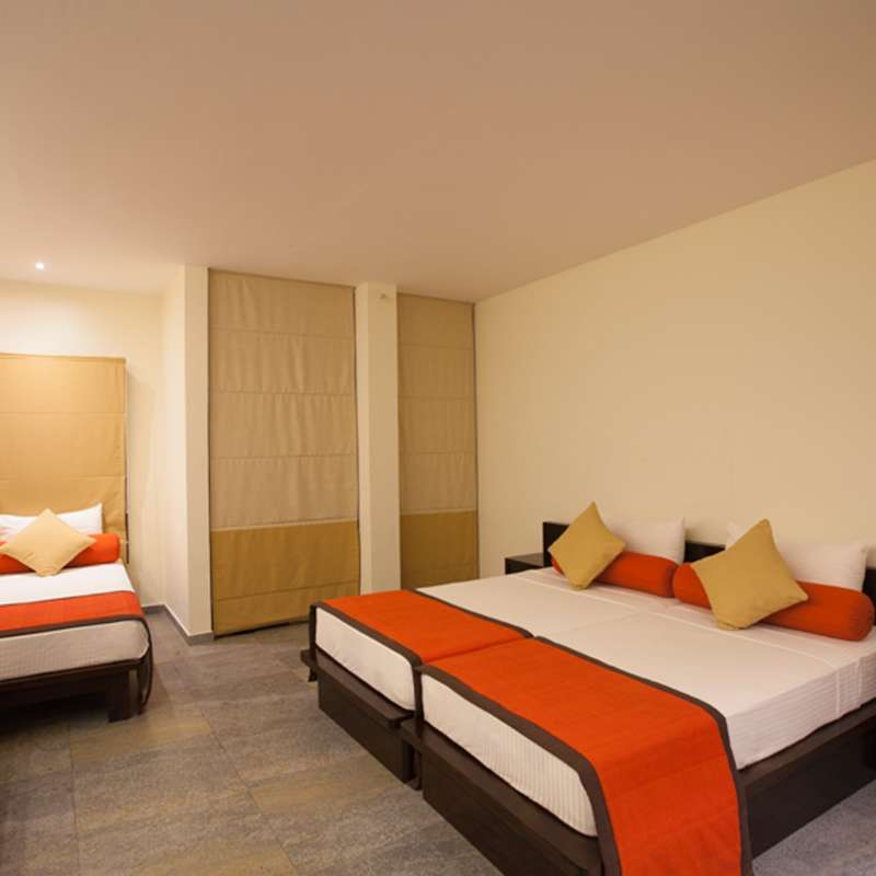Standard Room Interior in Oak Ray City Hotel Kandy