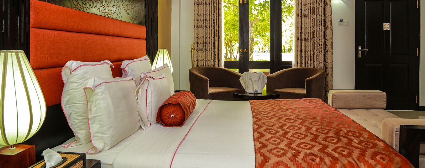 Superior Deluxe Rooms at Oak Ray Elephant Lake