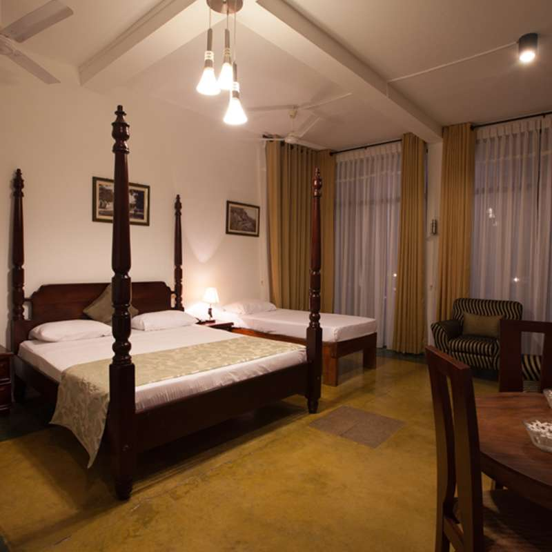 Standard Room Interior in Oak Ray Lake Resort Tissamaharama