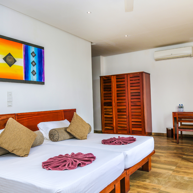 Air-conditioned Rooms at Oak Ray Regency