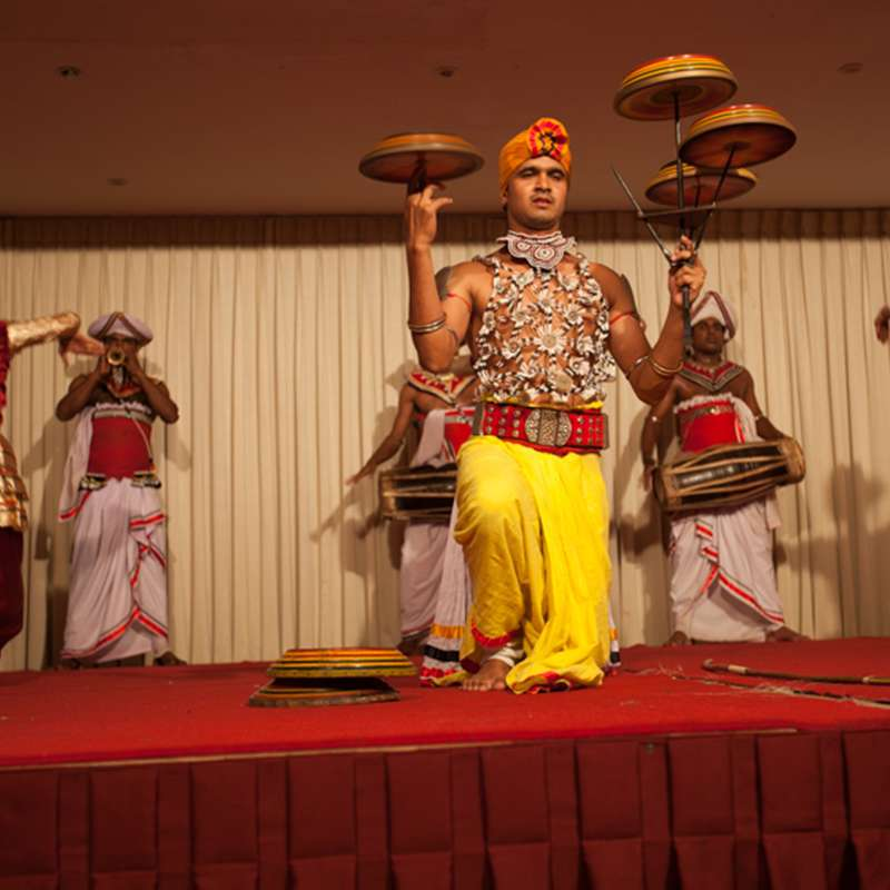 Traditional Dance Performance at Oak Ray Regency