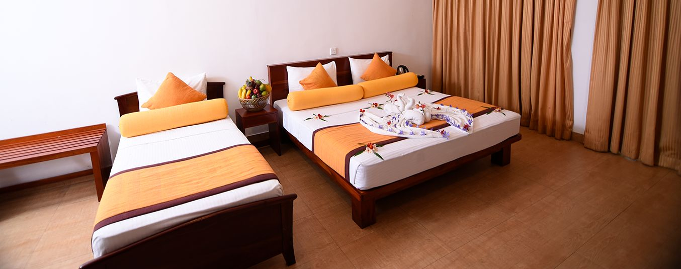 Well Arranged Bedding at Oak Ray Summer Hill Breeze Nuwara Eliya
