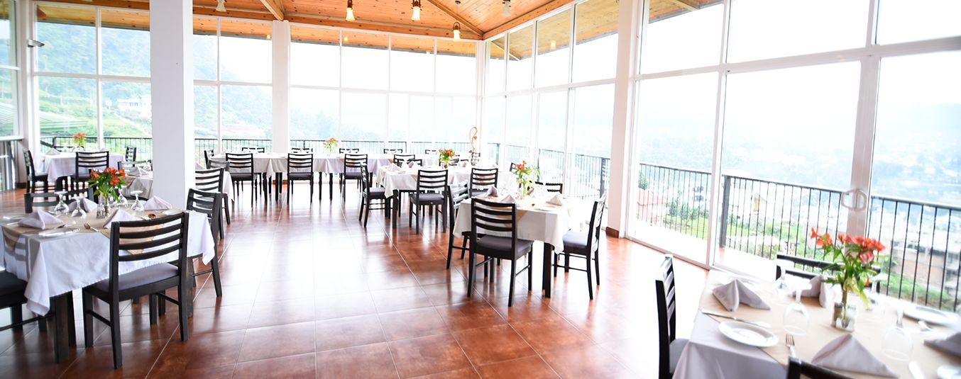 Dining Arrangement in Oak Ray Summer Hill Breeze Nuwara Eliya