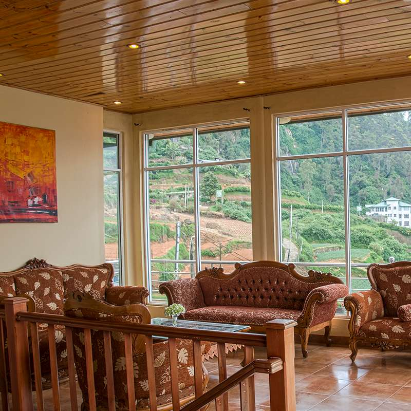 View from the Lobby at Oak Ray Summer Hill Breeze Nuwara Eliya