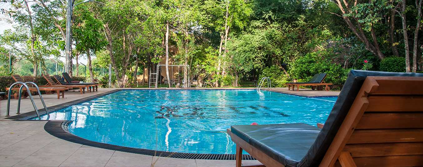 Swimming Pool at the Pelwehera Village Resort Dambulla