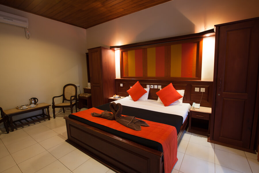 Deluxe Room Interior at Pelwehera Village Resort Dambulla