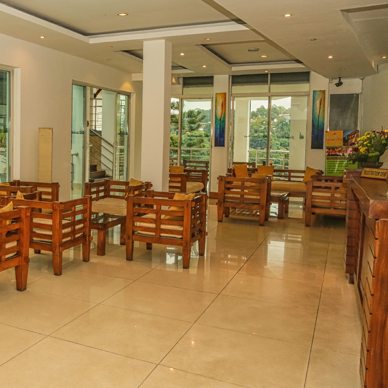 Lobby Area at Senani Hotel Kandy