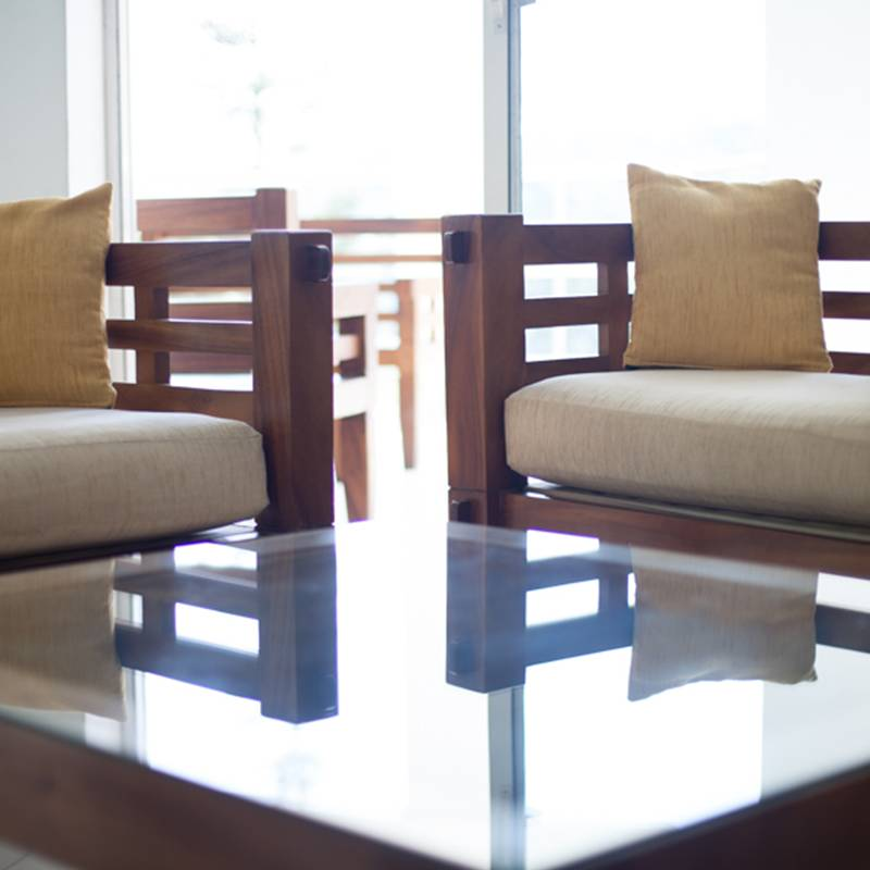 Lobby Seating Arrangements at Senani Hotel Kandy