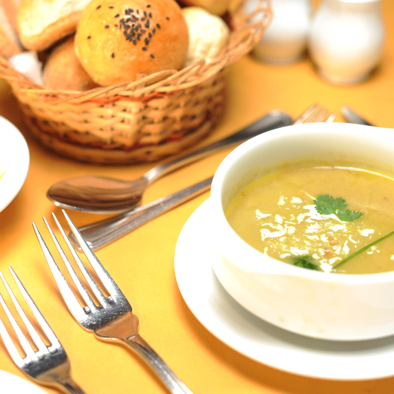 Appetizers with Soup
