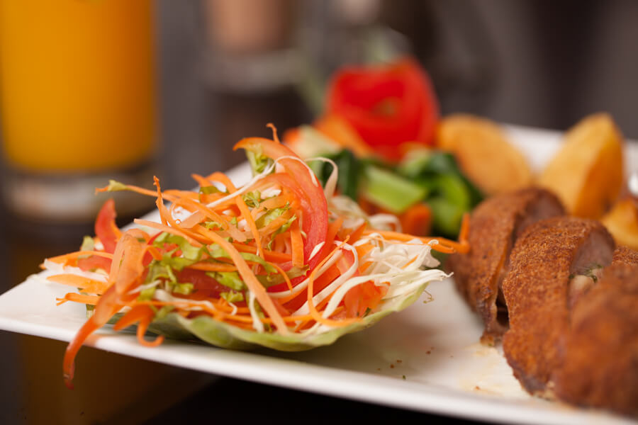 Modha with a Side of Salad at Oak Ray City Hotel